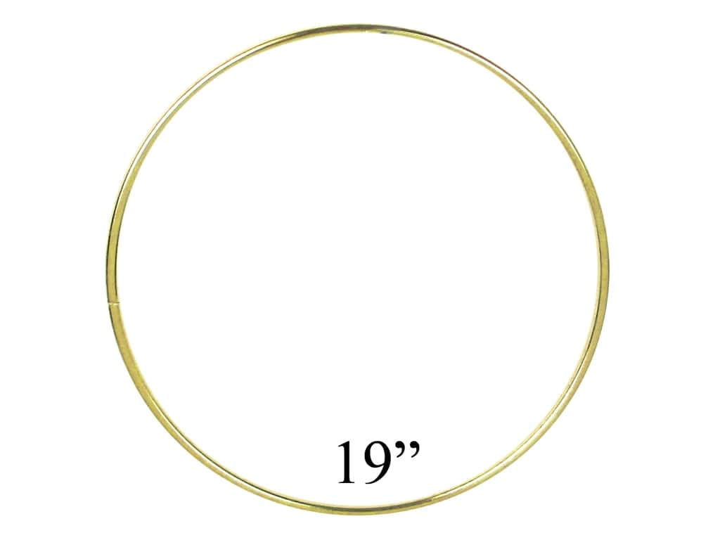 PA Essentials Brass Rings 19 in.