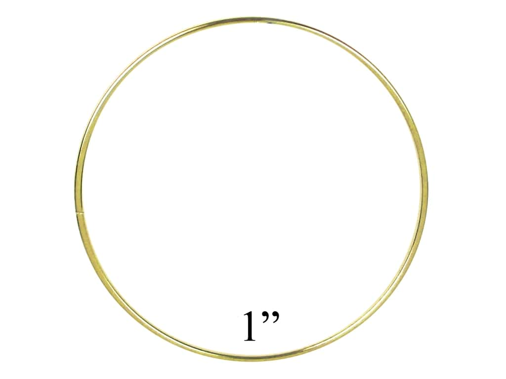 PA Essentials Brass Rings 1 in. (10 pieces)
