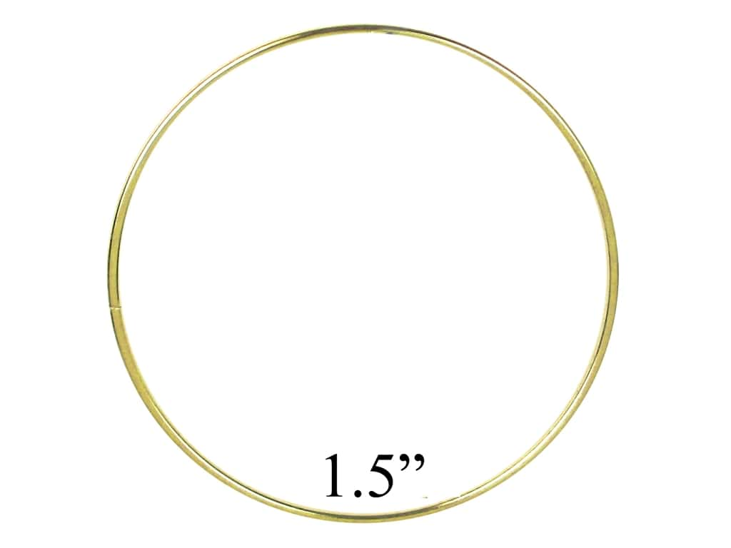 PA Essentials Brass Rings 1 1/2 in. (10 pieces)