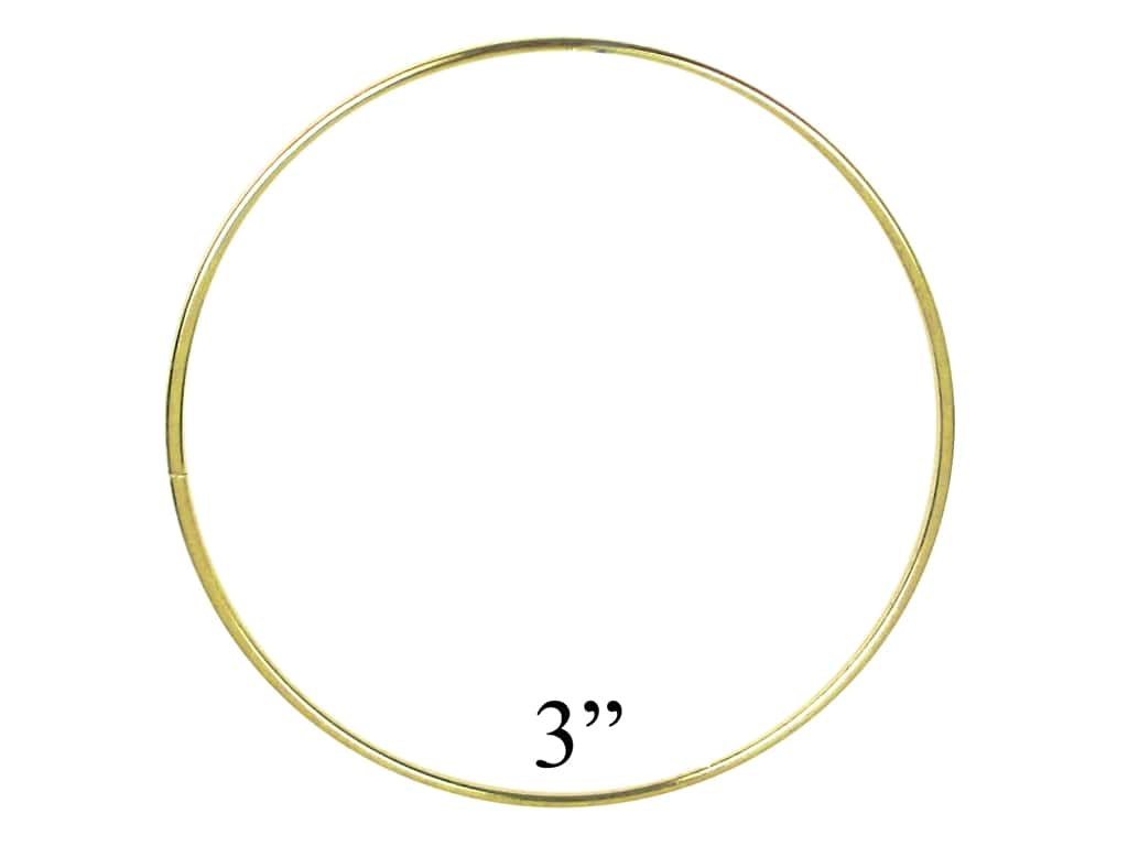 PA Essentials Brass Rings 3 in. (10 pieces)
