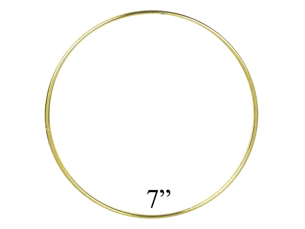 PA Essentials Brass Rings 7 in. (5 pieces)