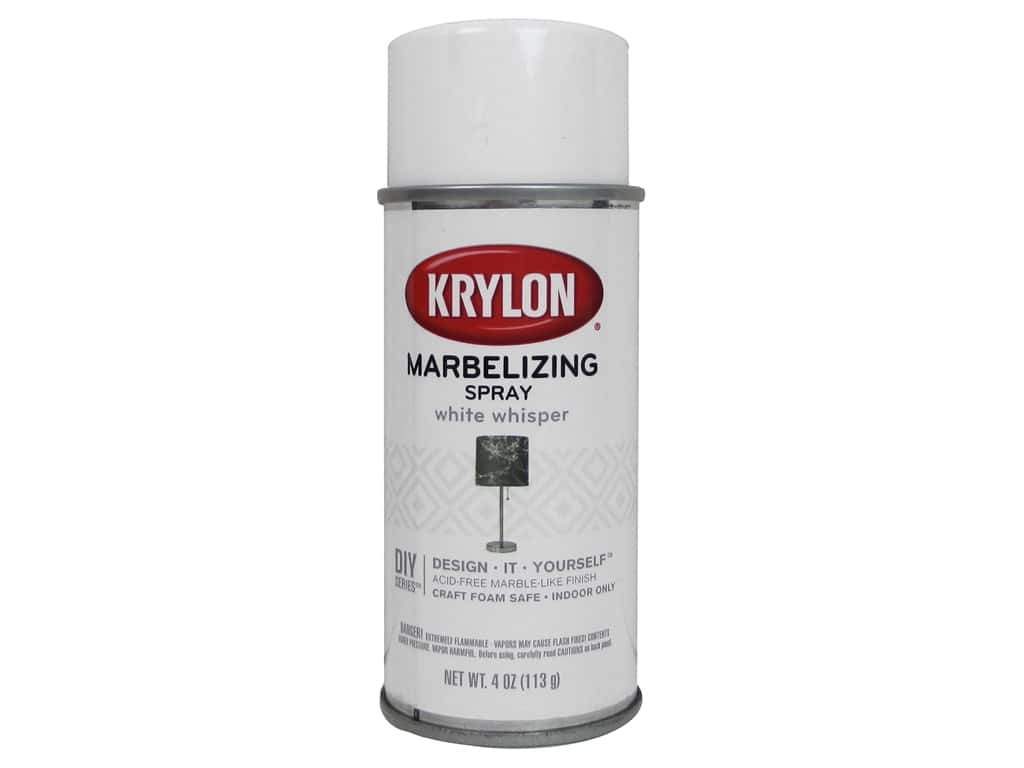 Krylon Marbelizing Spray 4 oz. White Whisper