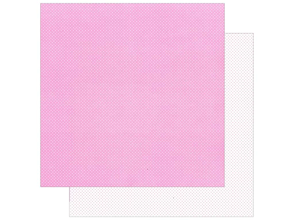 Doodlebug Paper 12 x 12 in. Swiss Dot Petite Cupcake (25 sheets)