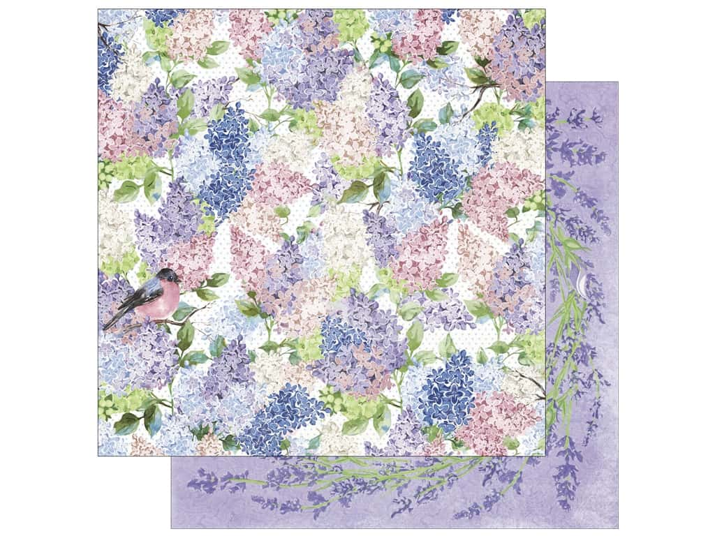 Bo Bunny 12 x 12 in. Paper Secret Garden Collection Secret Garden (25 sheets)