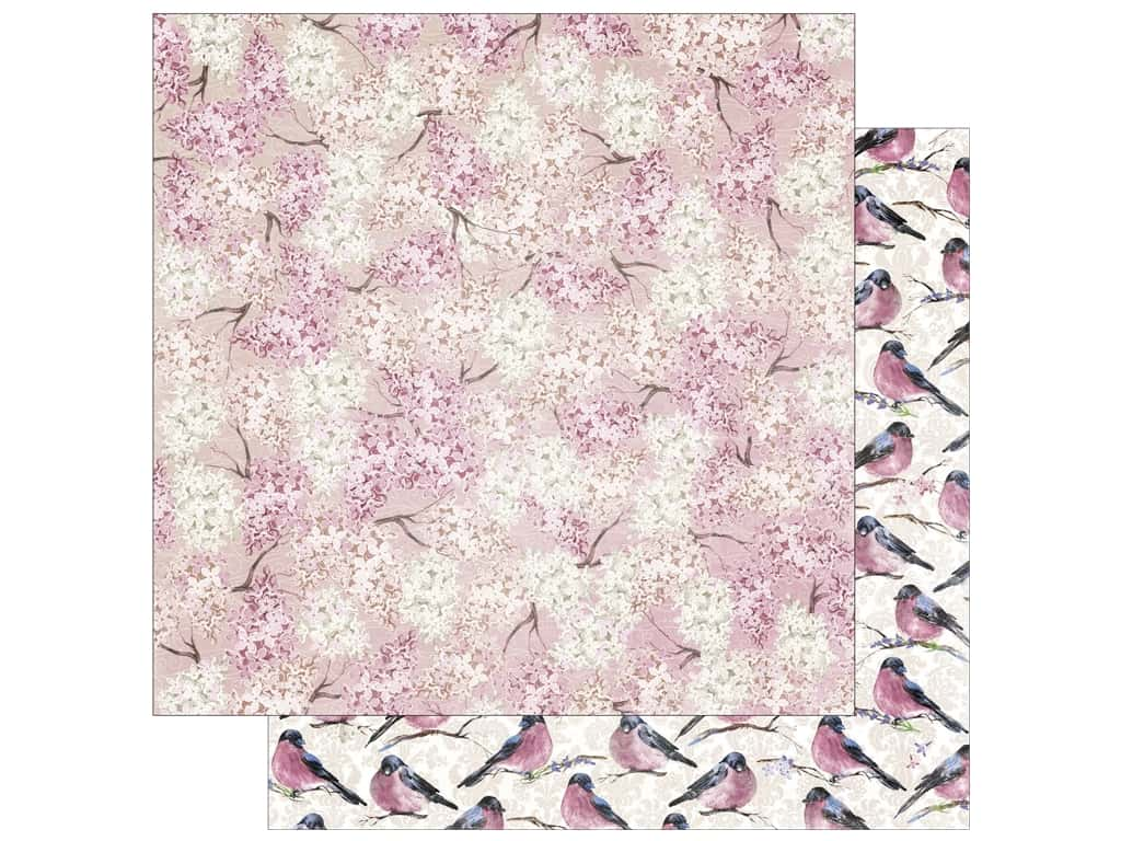 Bo Bunny 12 x 12 in. Paper Secret Garden Collection Bloom (25 sheets)