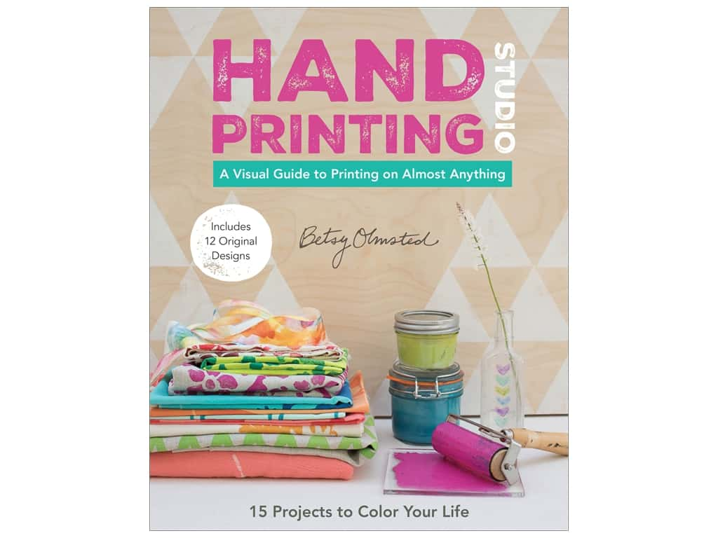 Stash By C&T Hand Printing Studio Book