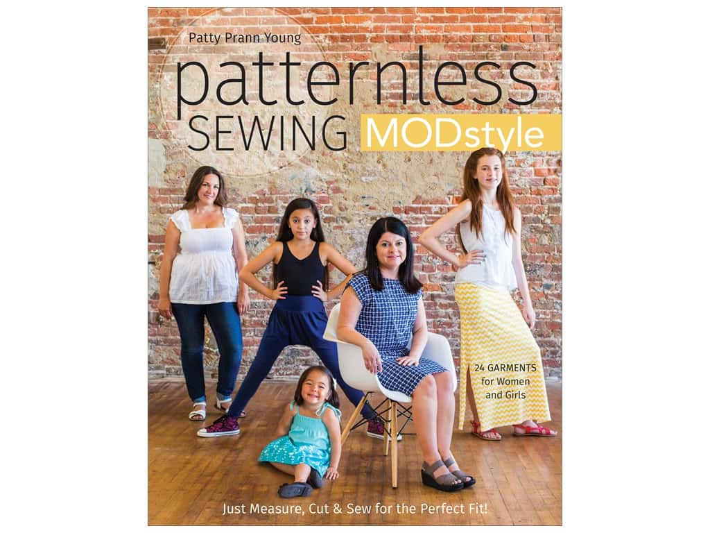 Stash By C&T Patternless Sewing Mod Style Book