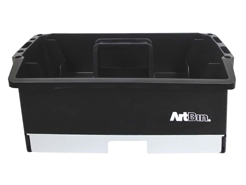 ArtBin Craft Caddy Black & Gray
