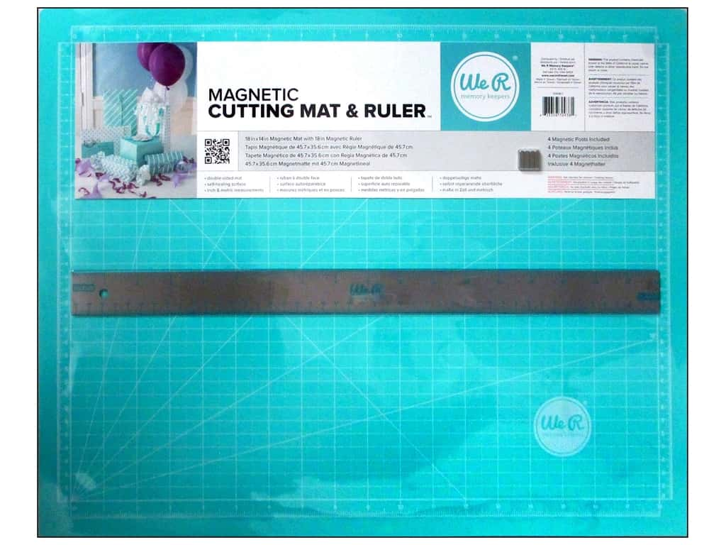 We R Memory Keepers Magnetic Cutting Set - Teal