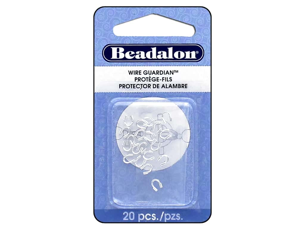 Beadalon Wire Guardian .022 in. Silver Plated 20 pc.