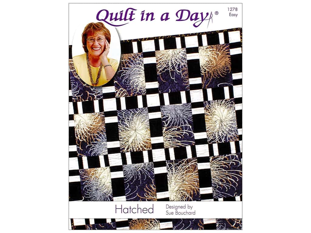 Quilt In A Day Hatched Pattern