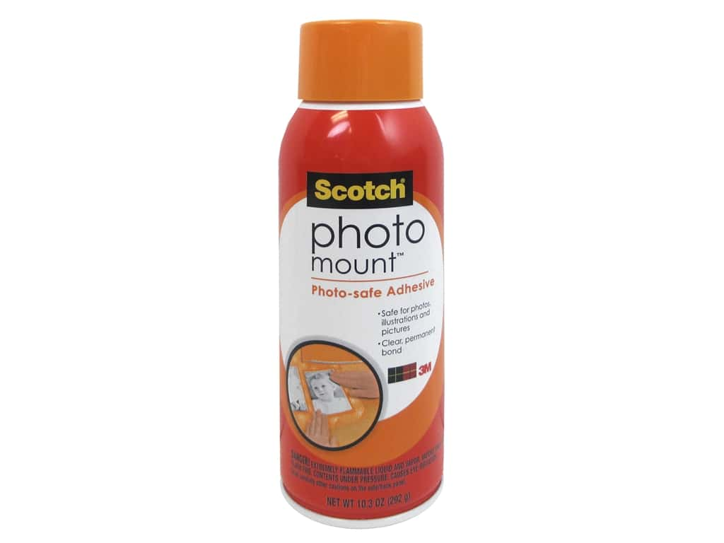 Scotch Photo Mount Photo-safe Spray Adhesive 10.3 oz.
