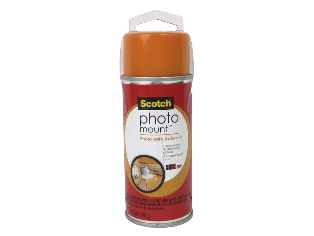 Scotch Photo Mount Photo-safe Spray Adhesive 4.23 oz.