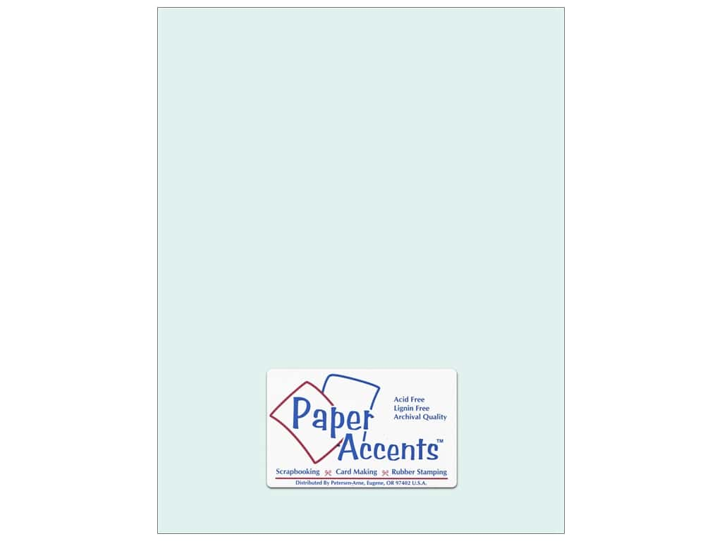 Paper Accents Cardstock 8 1/2 x 11 in. #8029 Muslin Sea Salt 25 pc.