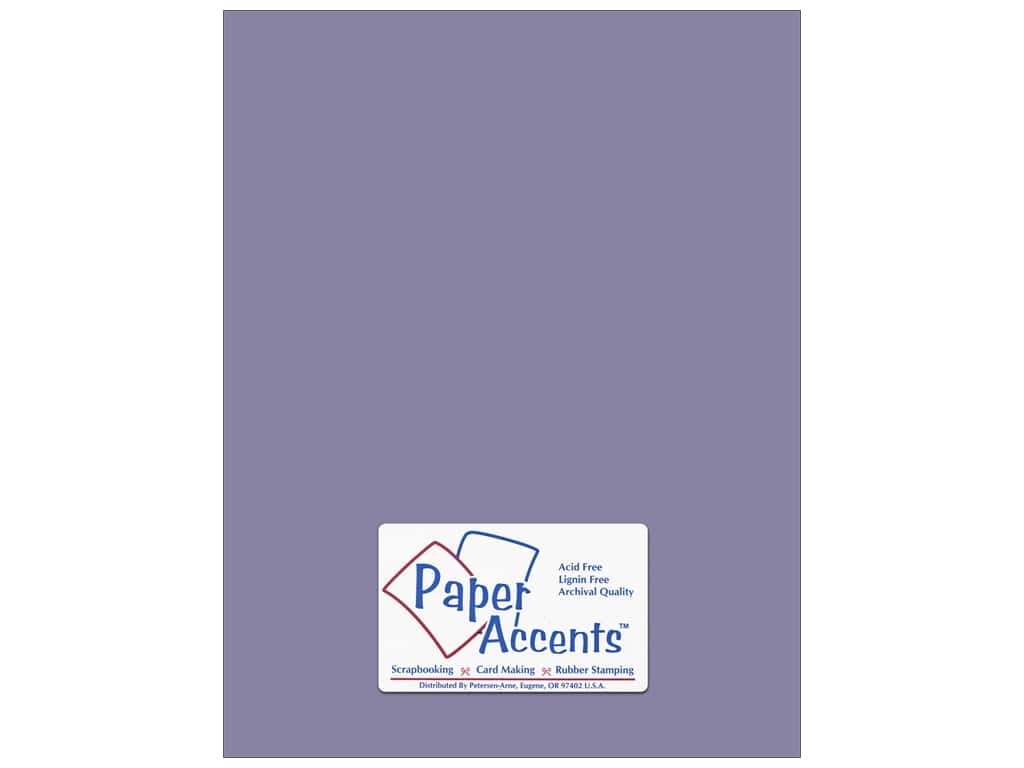 Paper Accents Cardstock 8 1/2 x 11 in. #8051 Muslin Love Potion (25 sheets)