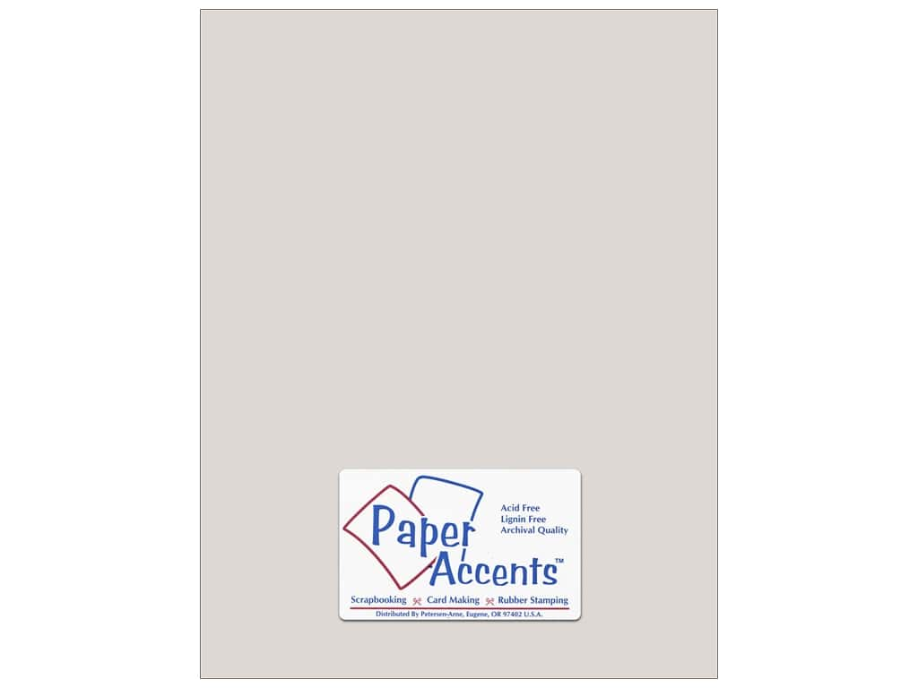 Paper Accents Cardstock 8 1/2 x 11 in. #8073 Muslin Mystique (25 sheets)