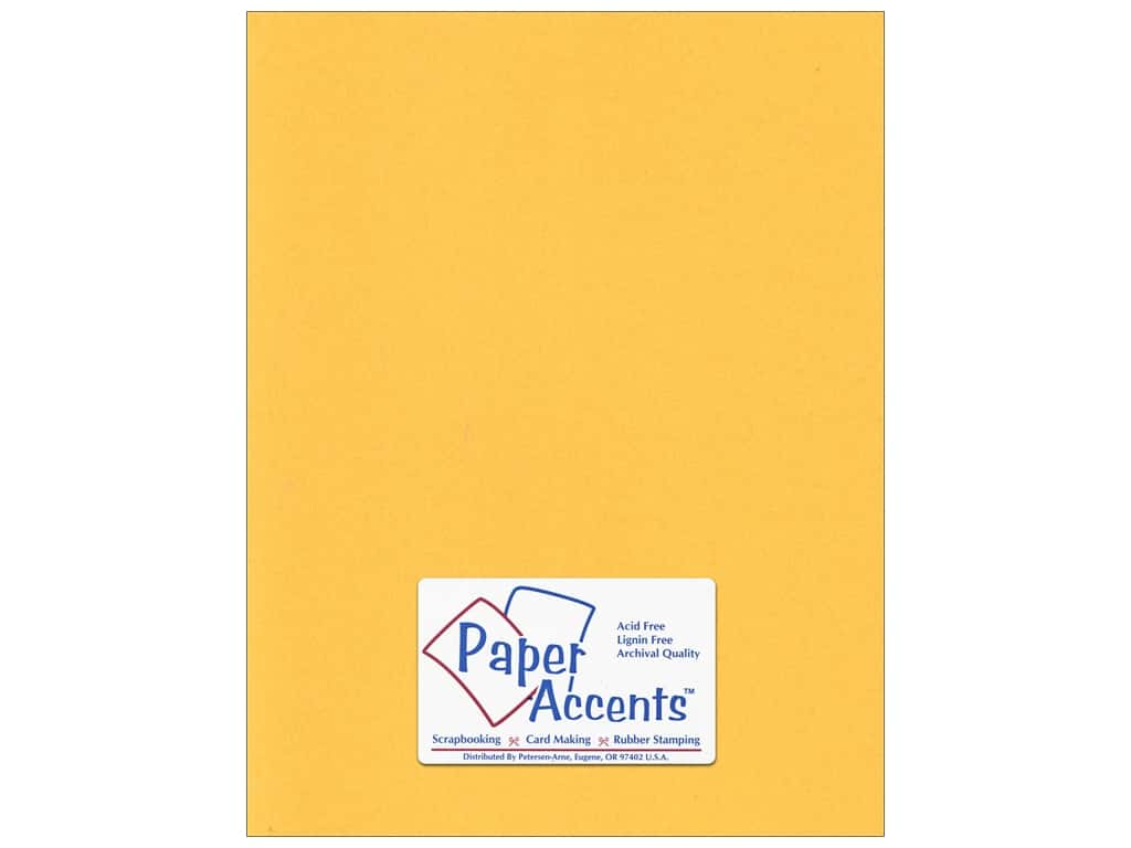Paper Accents Cardstock 8 1/2 x 11 in. #95 Smooth Dandelion 25 pc.