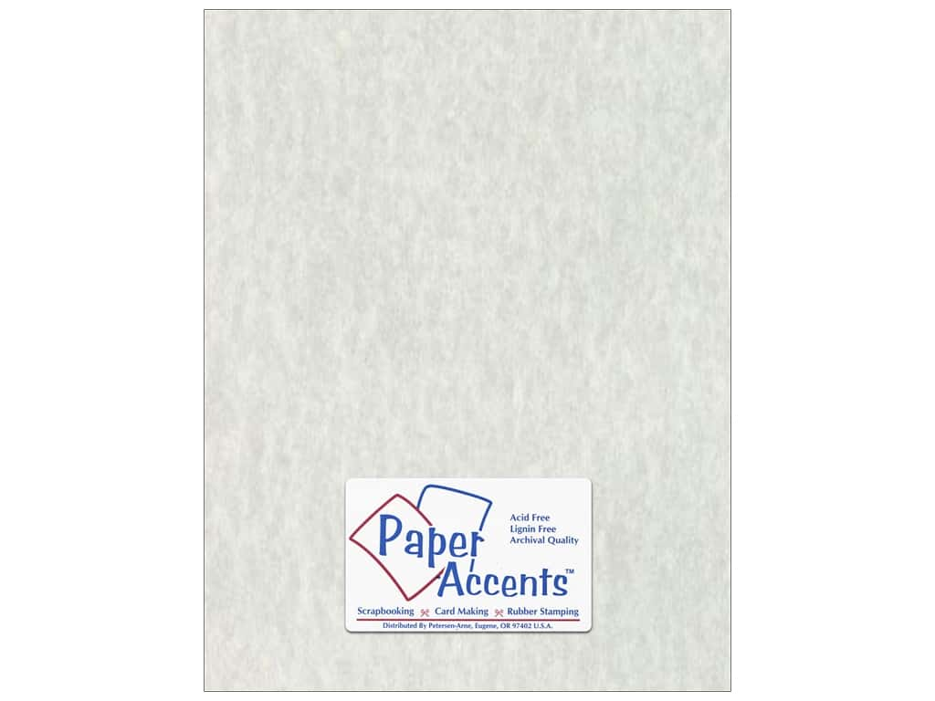 Paper Accents Cardstock 8 1/2 x 11 in. #204 Parchment Grey 25 pc.