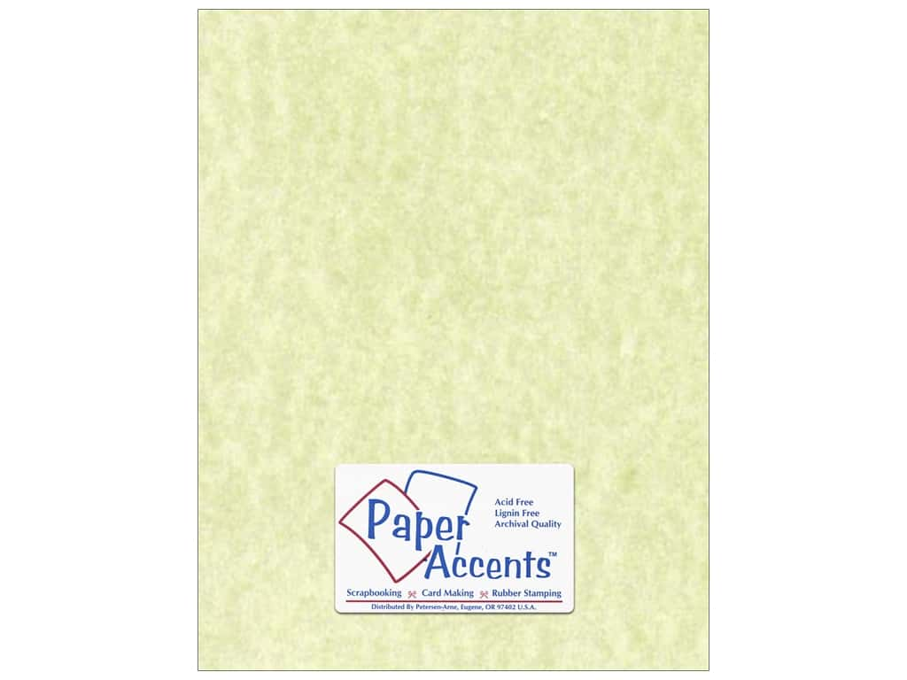 Paper Accents Cardstock 8 1/2 x 11 in. #207 Parchment Green 25 pc.