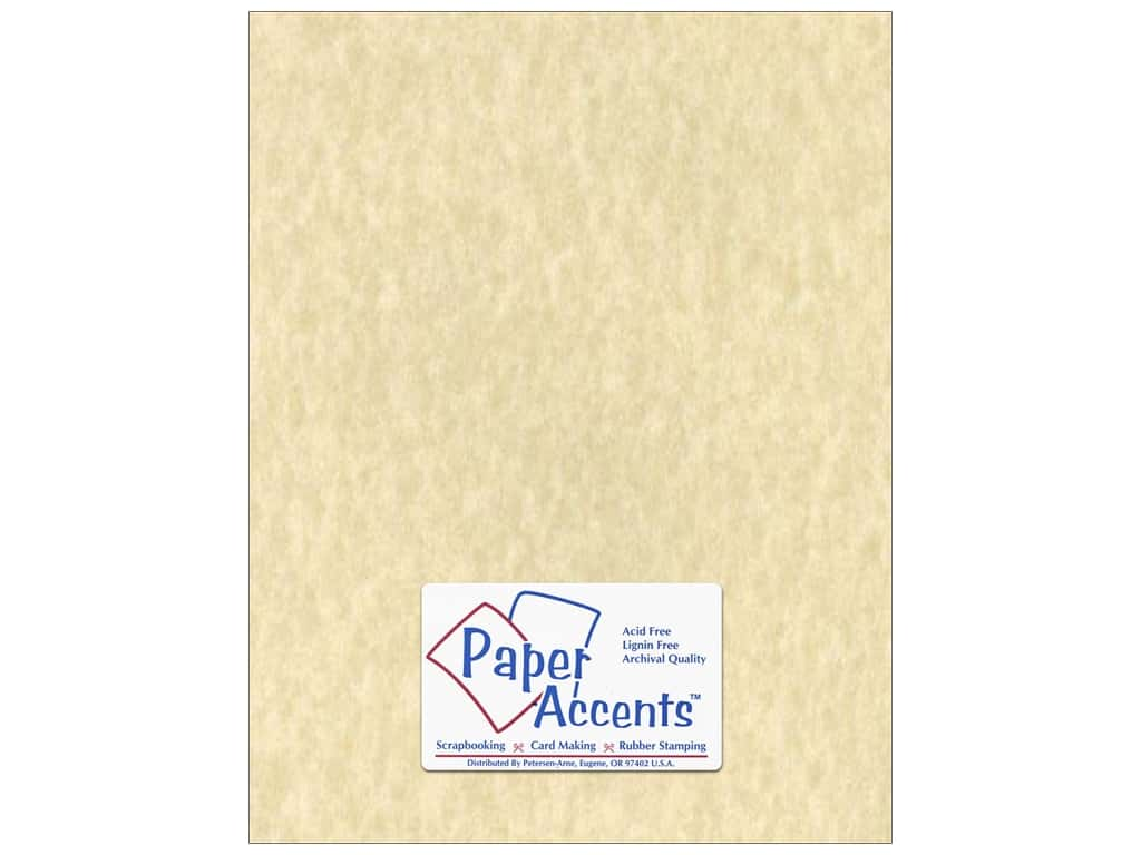 Paper Accents Cardstock 8 1/2 x 11 in. #203 Parchment Natural 25 pc.