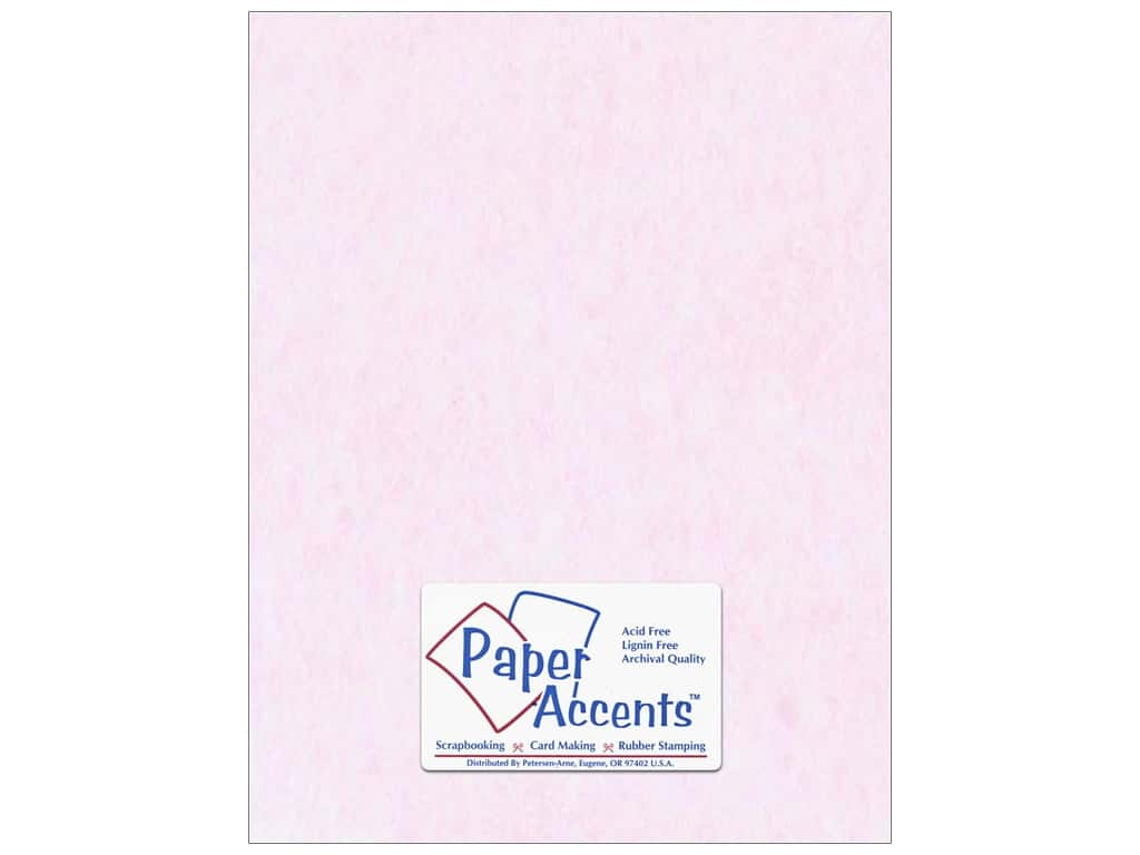 Paper Accents Cardstock 8 1/2 x 11 in. #206 Parchment Pink 25 pc.