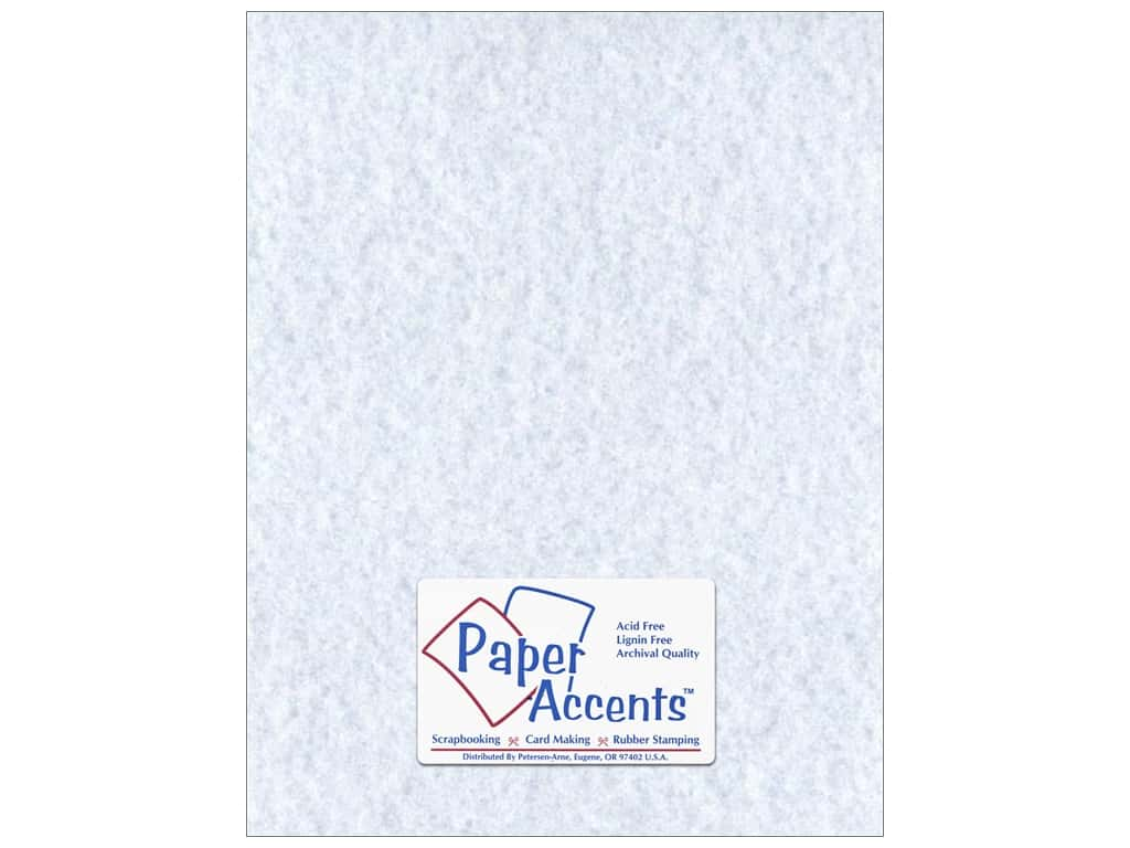 Paper Accents Cardstock 8 1/2 x 11 in. #208 Parchment Blue 25 pc.