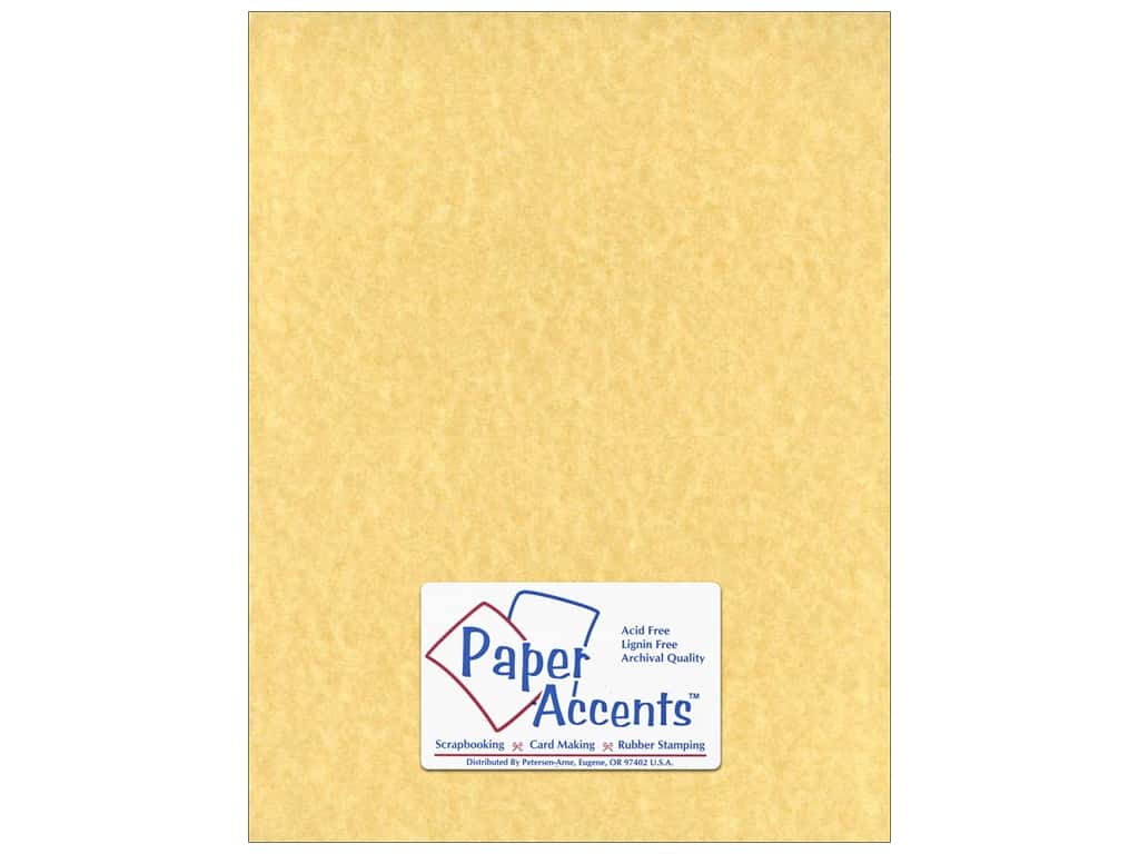 Paper Accents Cardstock 8 1/2 x 11 in. #211 Parchment Ancient Gold 25 pc.