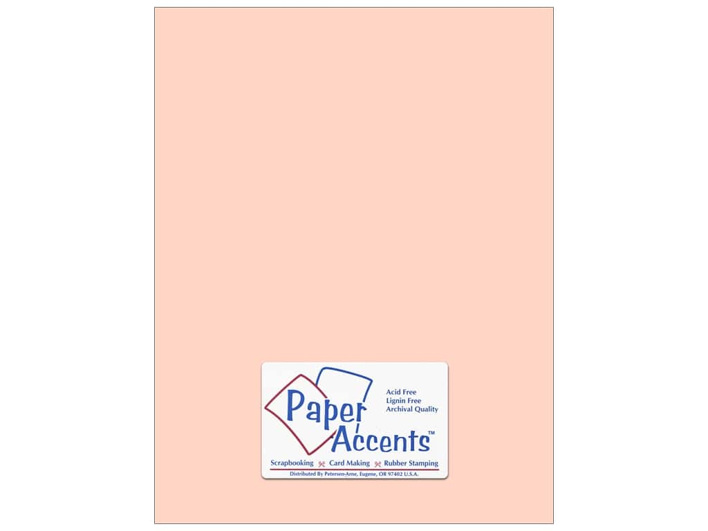 Paper Accents Cardstock 8 1/2 x 11 in. #151 Smooth Flesh (25 sheets)
