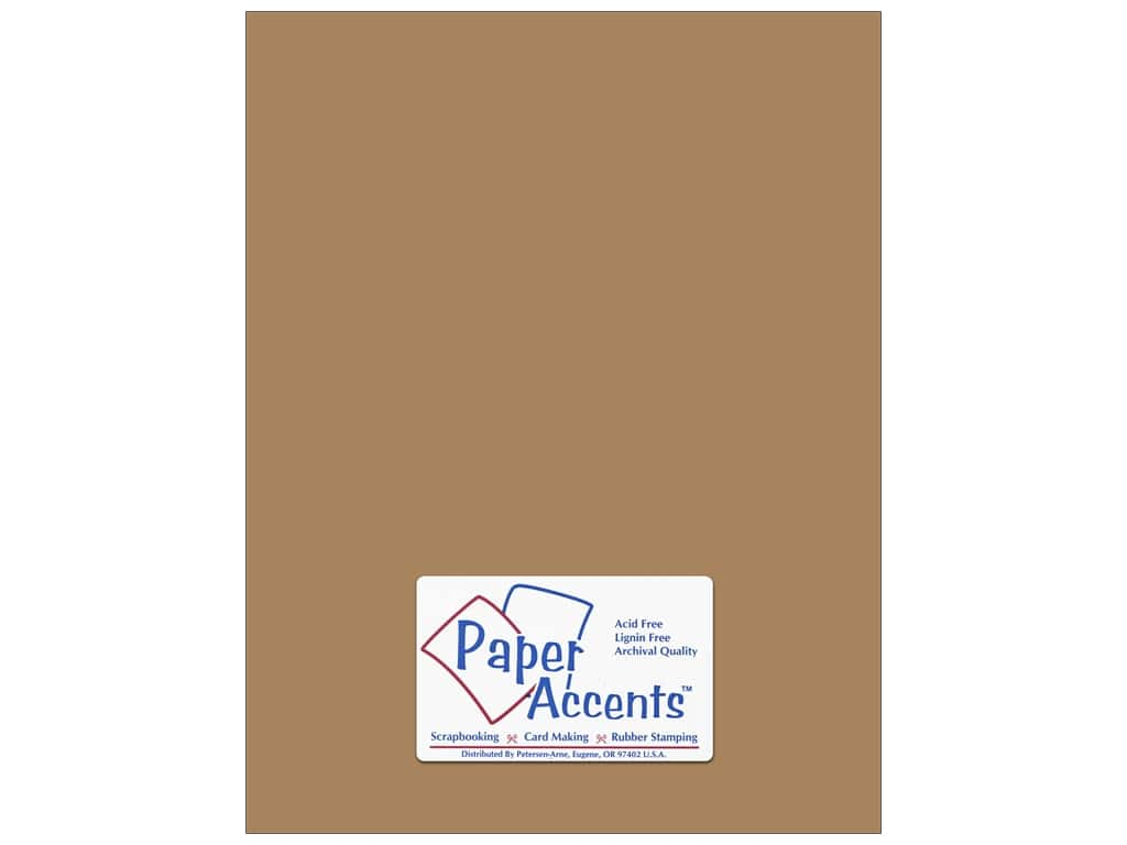 Paper Accents Cardstock 8 1/2 x11 in. #357 Recycled Brown Bag (250 sheets)
