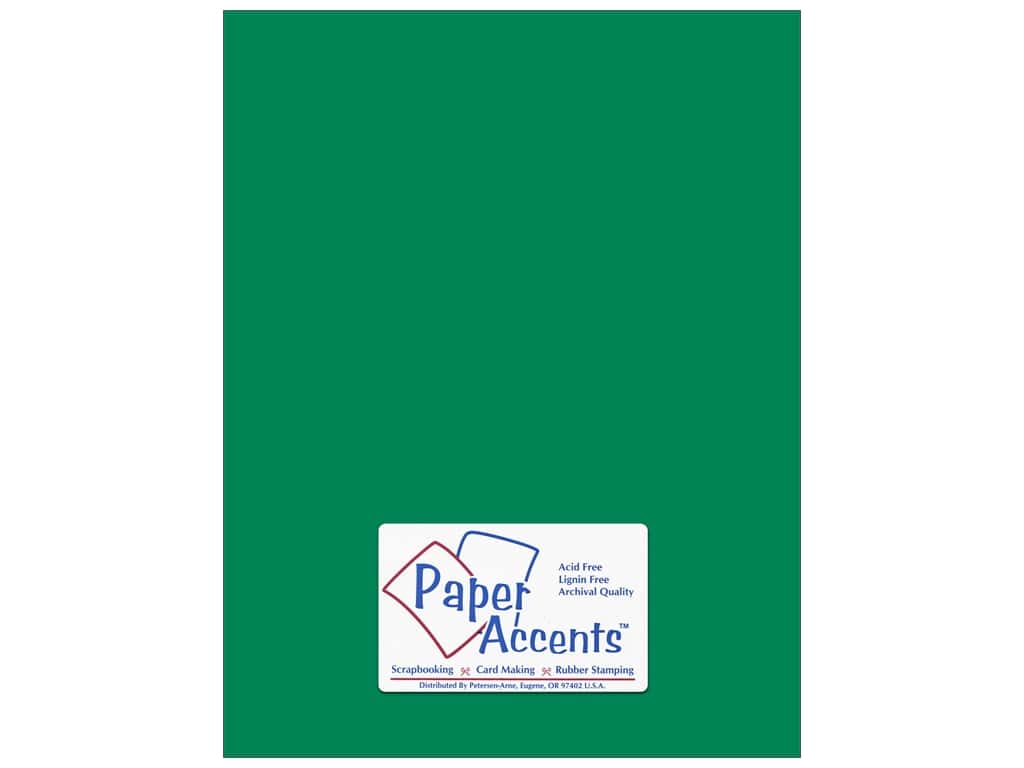 Paper Accents Cardstock 8 1/2 x11 in. #148 Smooth Green Grass 250 pc.