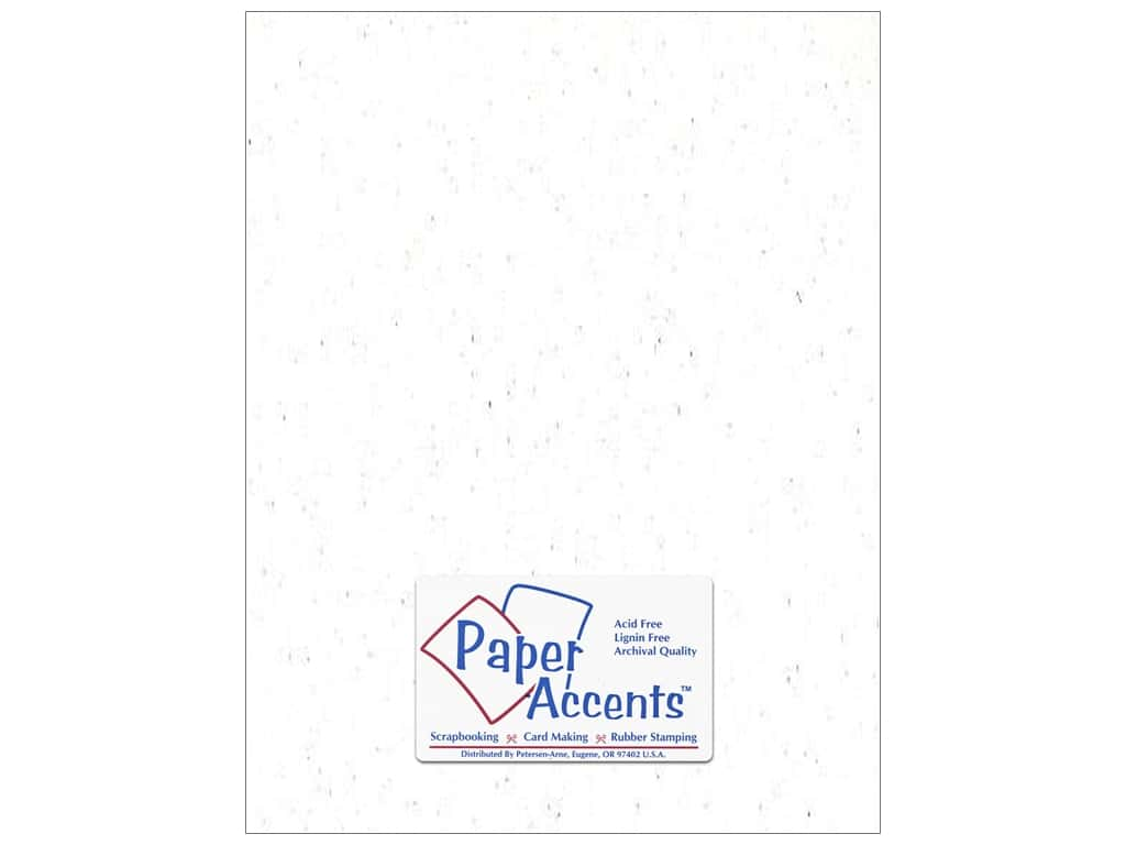 Paper Accents Cardstock 8 1/2 x 11 in. #301 Recycled Snow (25 sheets)