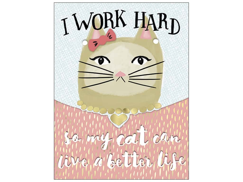 Molly & Rex Pocket Note Pad Posh Cat