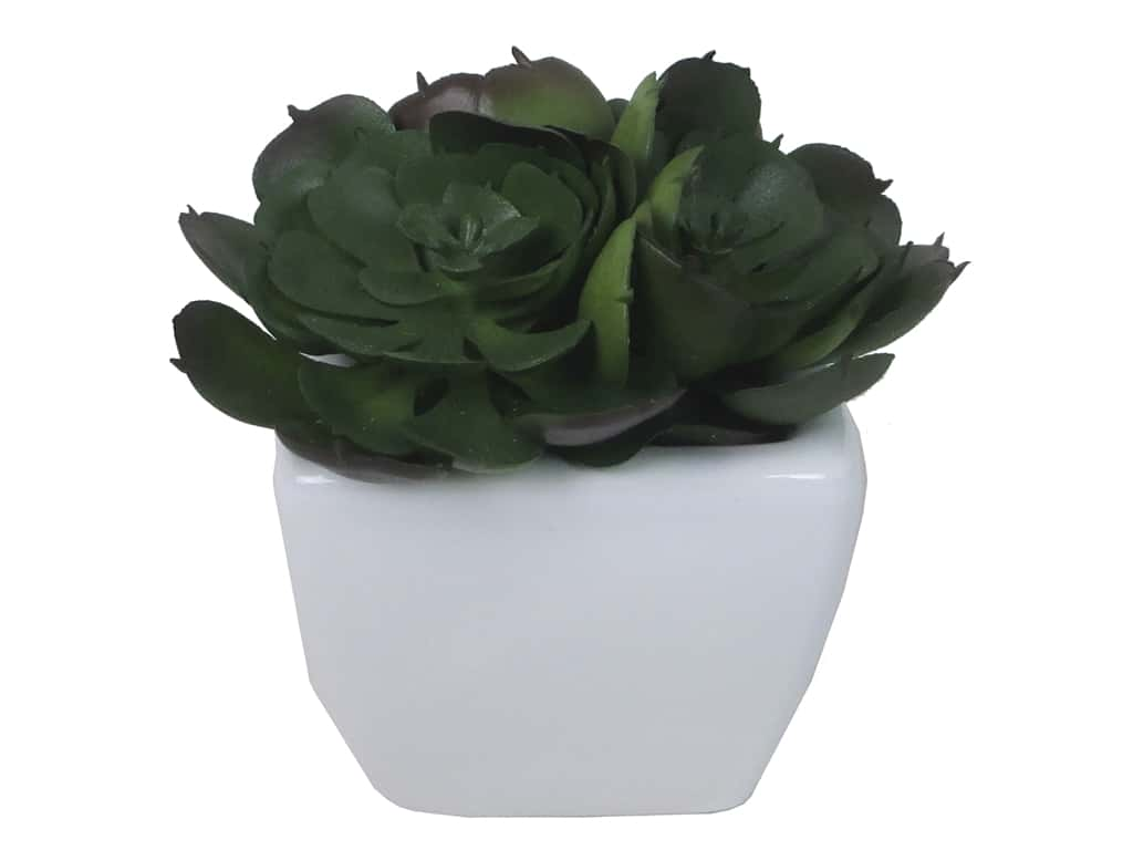 Floracraft SimpleStyle Succulent/Pot Large (3 pieces)