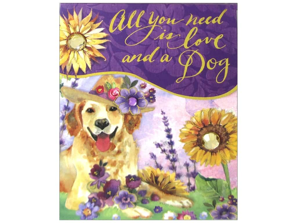 Punch Studio Pocket Note Pad Posh Pets Retriever