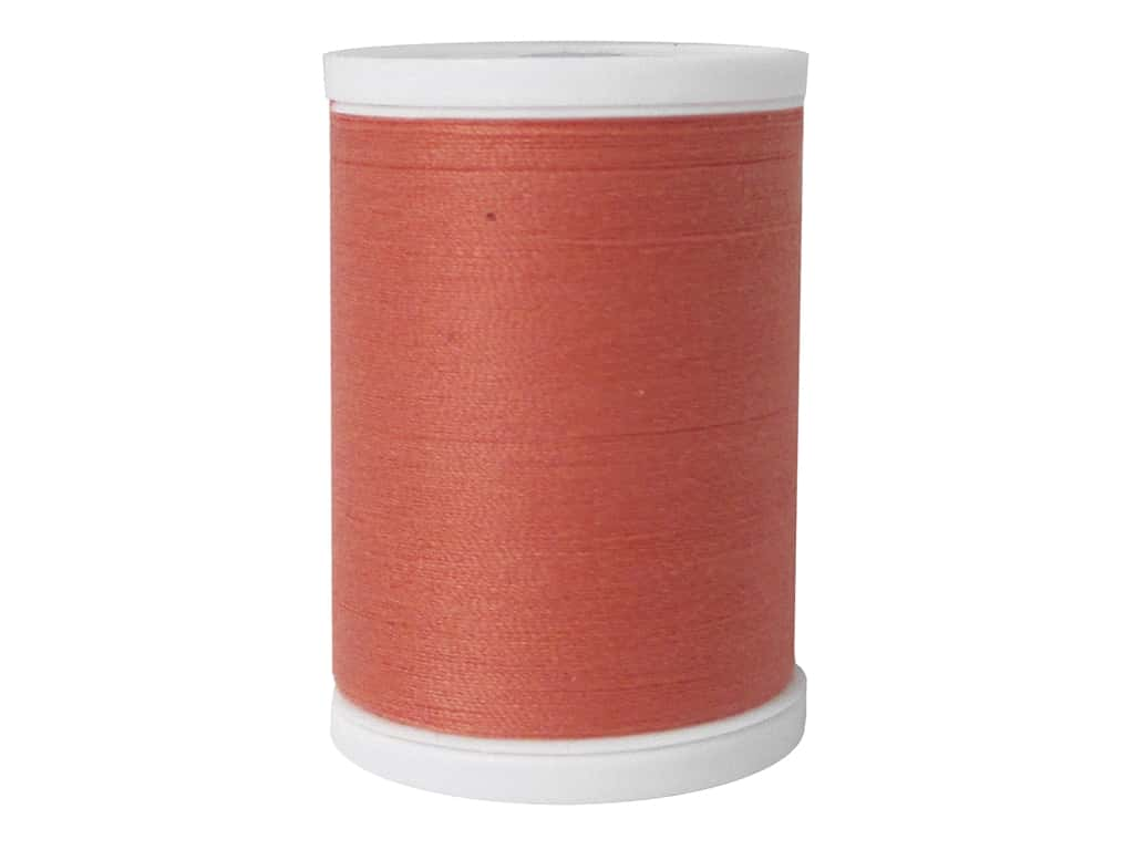 Coats & Clark Dual Duty XP All Purpose Thread 250 yd. #1500 Orange Coral