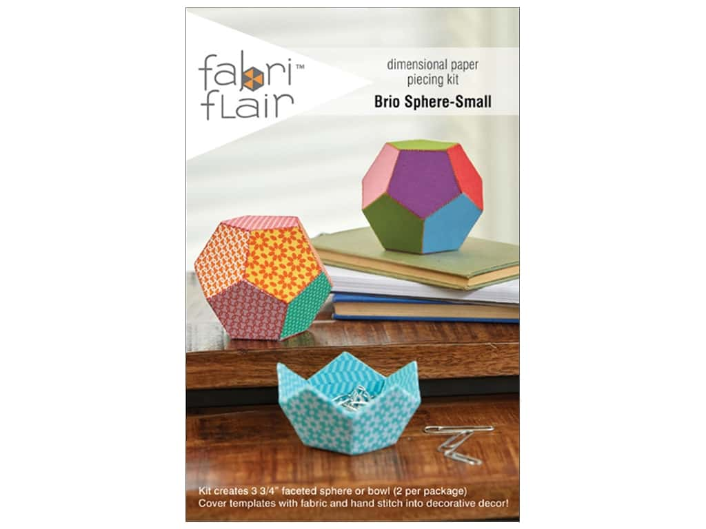 Indygo Junction Fabri Flair Kit Small Brio Sphere Pattern