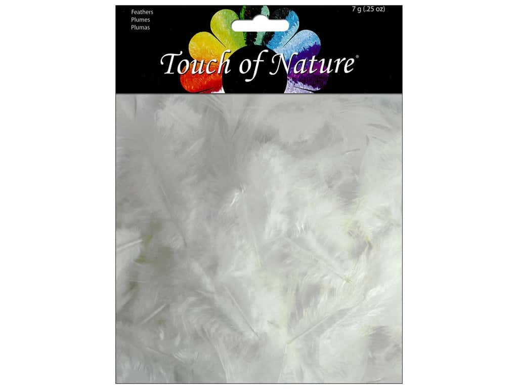 Midwest Design Feather Saddle Hackle 7 gm White
