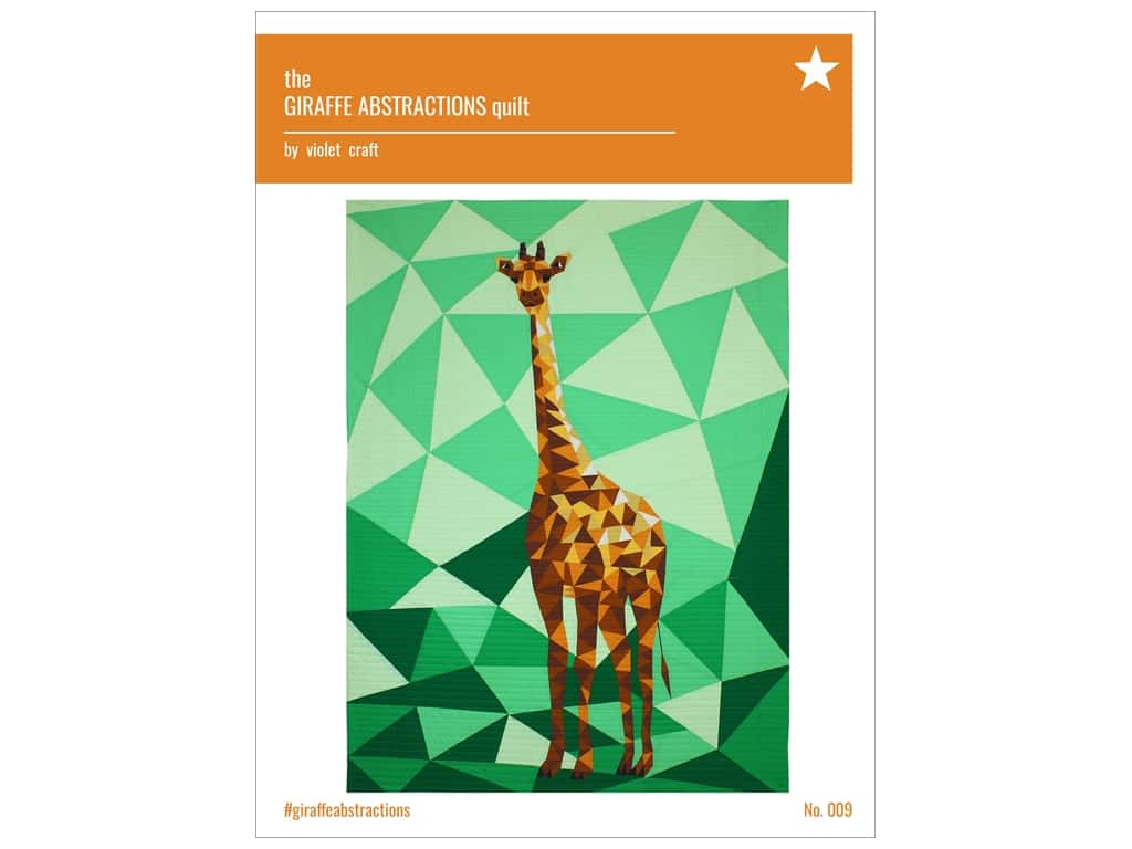 Violet Craft The Giraffe Abstractions Quilt Pattern