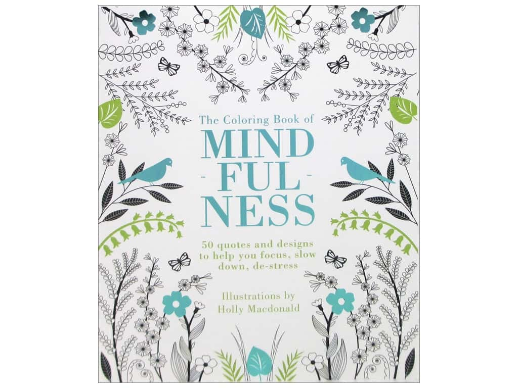 Quadrille The Coloring Book of Mindfulness