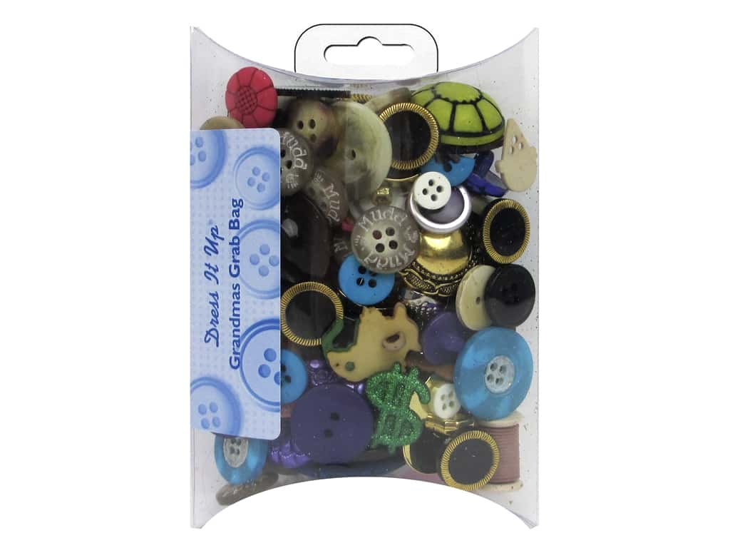 Jesse James Dress It Up Embellishments Grab Bag Grandma's