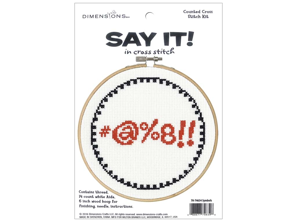 Dimensions Cross Stitch Kit Say It! Symbols