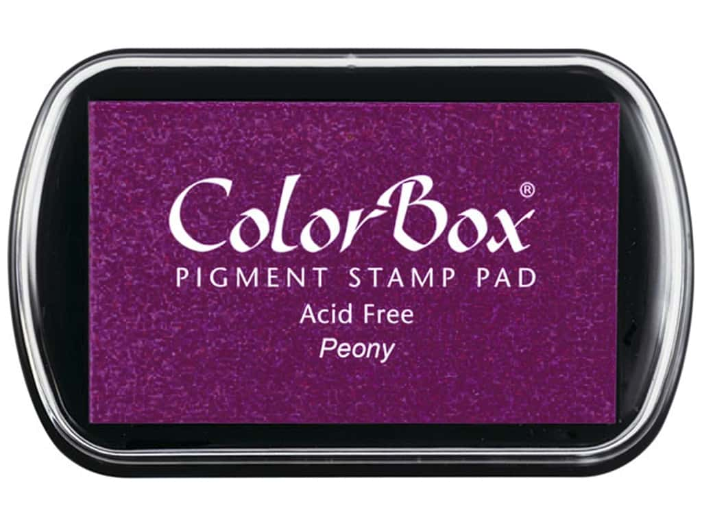 Colorbox Full Size Pigment Inkpad Peony