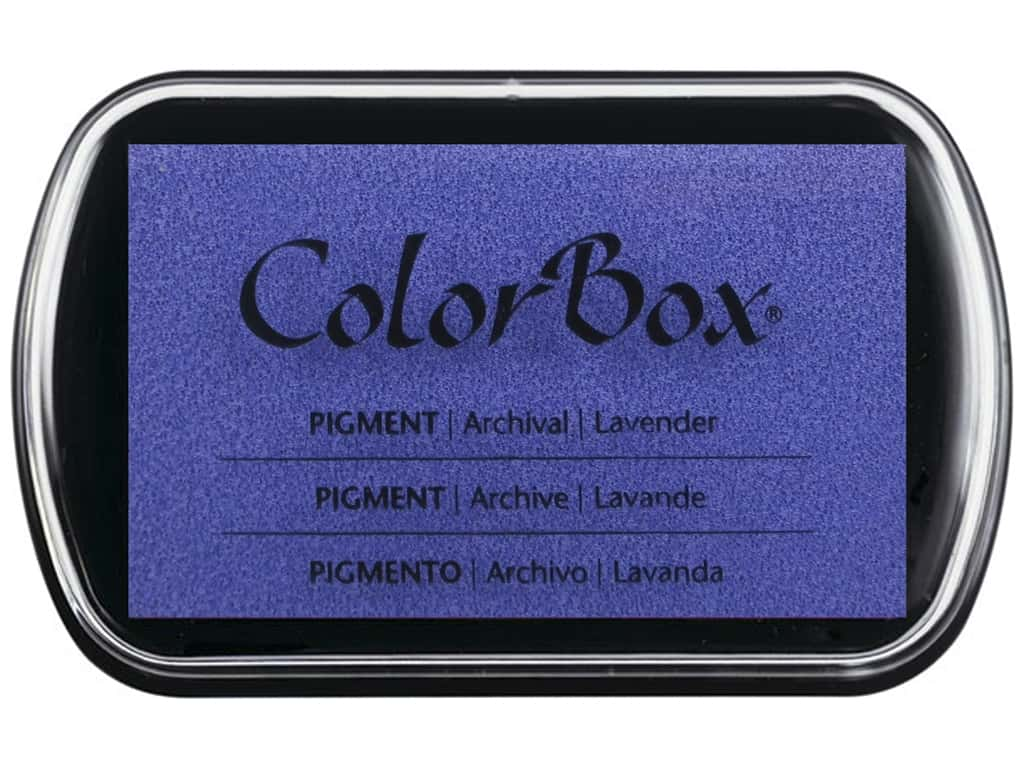Colorbox Full Size Pigment Inkpad Lavender
