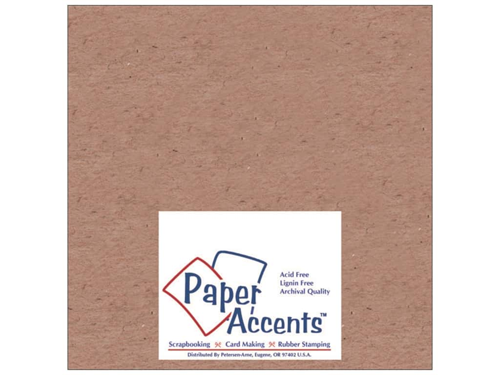 Paper Accents Chipboard 4 x 4 in. 42 pt. XL Heavy Natural 25 pc.