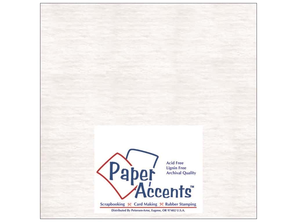 Paper Accents Chipboard 4 x 4 in. 50 pt. Extra Heavy 2-Sided White 25 pc.