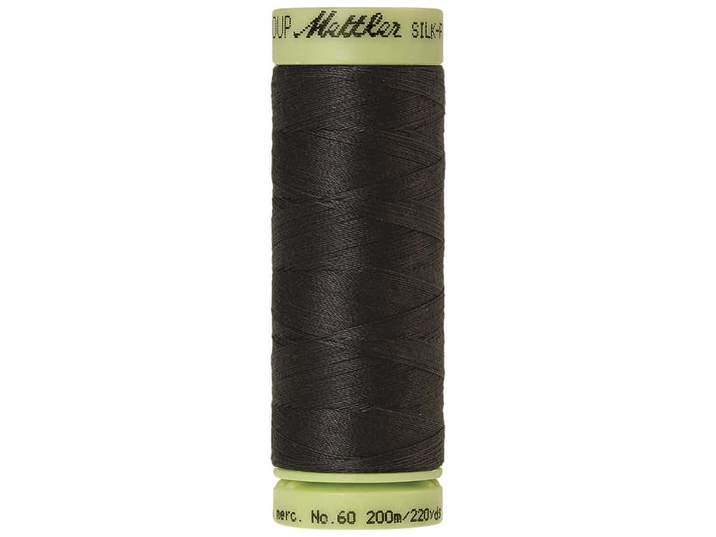 Mettler Silk Finish Cotton Thread 60 wt. 220 yd. Mole Gray
