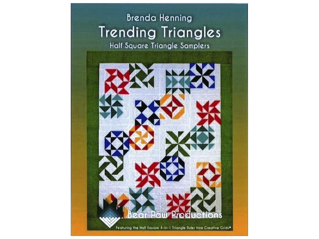 Bear Paw Productions Trending Triangles Book