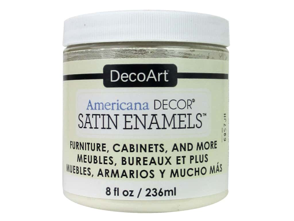 DecoArt Americana Decor Satin Enamel Paint 8 oz. Soft Linen