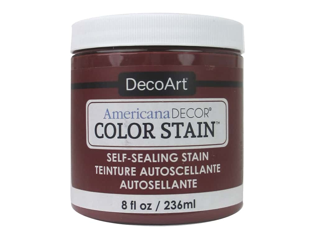 DecoArt Americana Decor Color Stain 8 oz. Brick