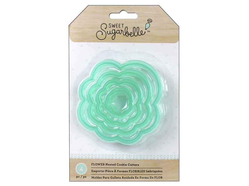 American Crafts Sweet Sugarbelle Nested Cookie Cutters Flower
